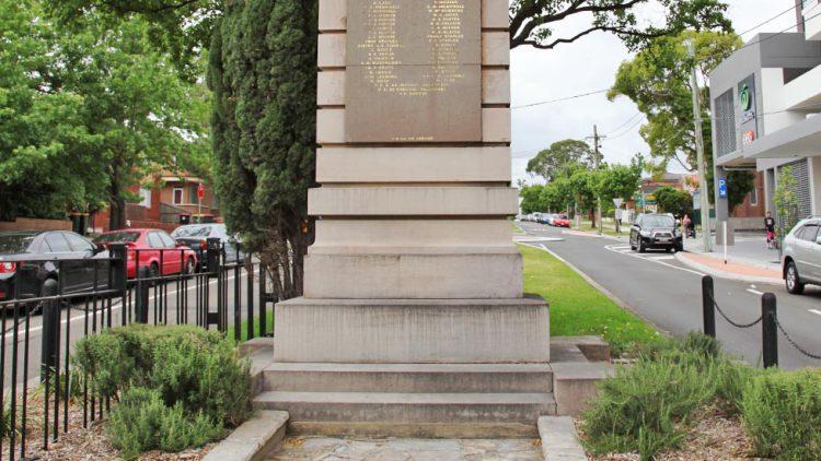 Punchbowl Cenotaph